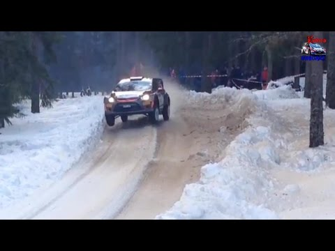 Robert Kubica - shakedown - Rally Sweden 2015 [HD]