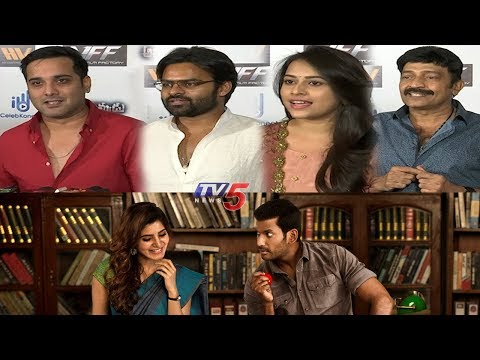 Celebrities Response On Abhimanyudu Movie | Vishal | Samantha | Arjun | TV5 News