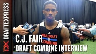 C.J. Fair Draft Combine Interview