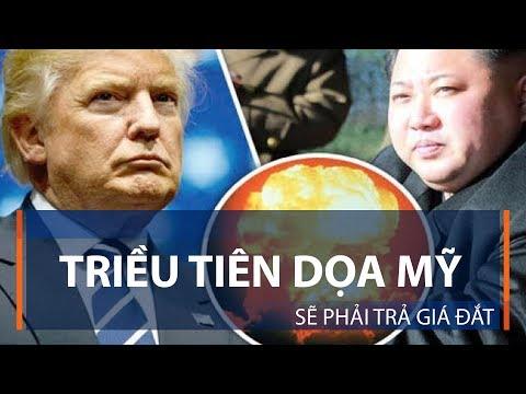 Triều Tiên dọa Mỹ sẽ phải trả giá đắt | VTC1 - Thời lượng: 111 giây.