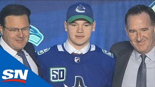 Vancouver Canucks Select Vasily Podkolzin With The 10th Overall Pick In 2019 NHL Draft by Sportsnet Canada