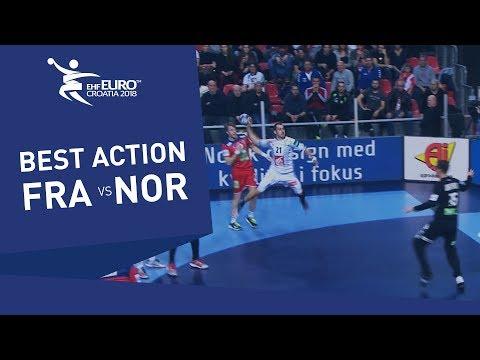 This goal of Guigou made Norway upset | Men's EHF EURO 2018