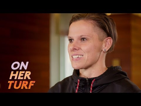 Video: 49ers' Offensive Assistant Coach Katie Sowers is epitome of progress | On Her Turf | NBC Sports