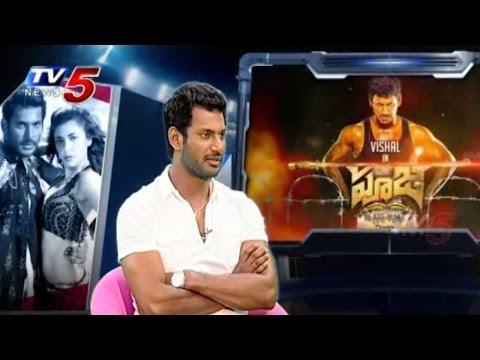 Vishal Poojai Movie Success Secrets Sharing with TV5 News