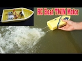 How To Make mini RC Boat Twin 180 Motor