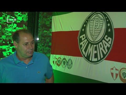 Evair marca presença em encontro do Palmeiras em Santo André; veja vídeo