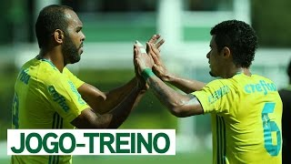 Com gol de Alecsandro, o Palmeiras derrotou o Nacional (SP) por 1 a 0, na manhã desta segunda-feira (30), em jogo-treino realizado na Academia de Futebol. --...