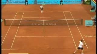 Madrid 2010: QF Roger v Gulbis (Highlights Part 2) - Sorry but my broadcaster did not show the first set and the first game of the second set.