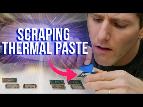 Is Intel's Thermal Paste ACTUALLY That Bad
