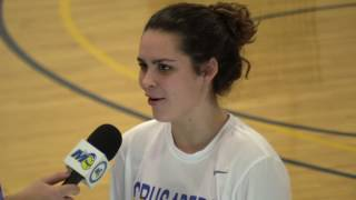 Lindsey Hernden 1,000 point ceremony and interview