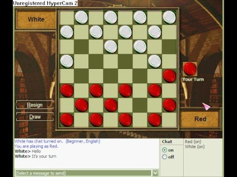 2 player checkers game online