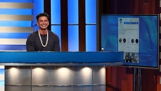 Video Pauly D Explains Why He Follows Only Ellen on Instagram MP3, 3GP, MP4, WEBM, AVI, FLV Juni 2018