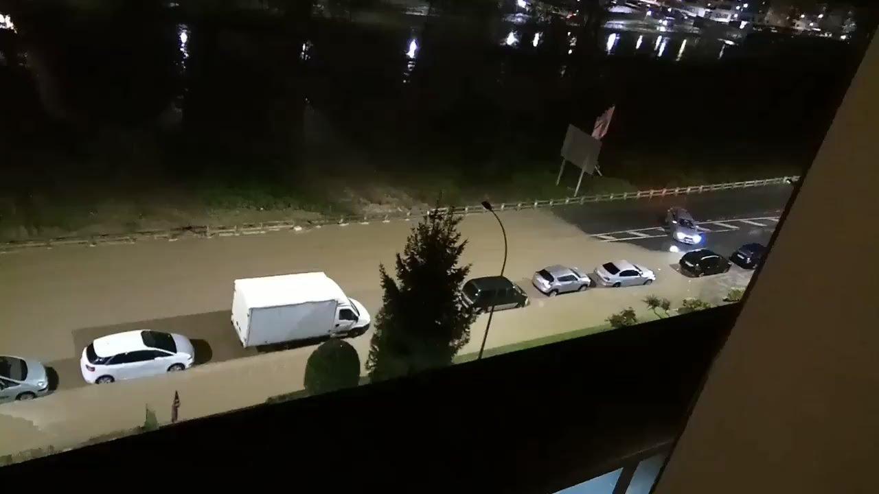 Alerta por inundaciones: el río Ibaizabal llega al nivel amarillo a su paso por Amorebieta