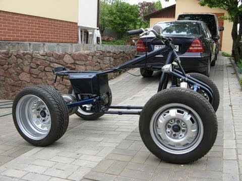 homemade ATV from Russia assembled only for $ 50
