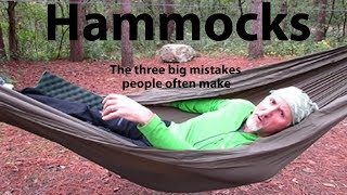 Video HAMMOCKS - The three big mistakes people often make MP3, 3GP, MP4, WEBM, AVI, FLV Juli 2019