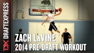 Zach LaVine 2014 NBA Pre-Draft Workout & Interview HD DraftExpress