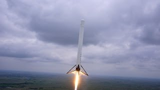 Reusable Rocket Launching And Landing - Awesome Technology!