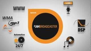 Демонстрационный видеоролик программы SAM Broadcaster