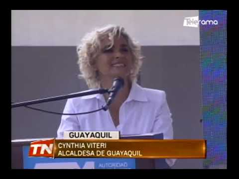 Aerovía que conectará Durán con Guayaquil tiene un avance del 93%