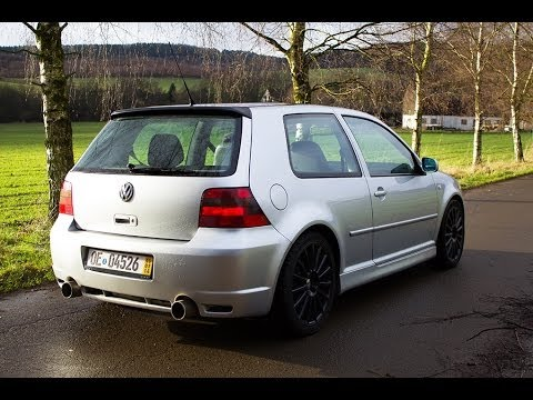 golf 4 r32 hgp bi-turbo da 550 hp!