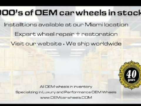 1985 Lotus Espirit Alloy Wheel (1) (Miami, Florida)