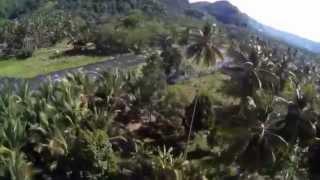 Oroquieta City Philippines  City new picture : Jay and Belen ziplining in Oroquieta City, Misamis Occidental, Philippines