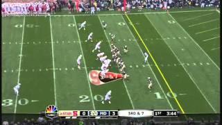 Coby Fleener vs Virginia Tech and Notre Dame
