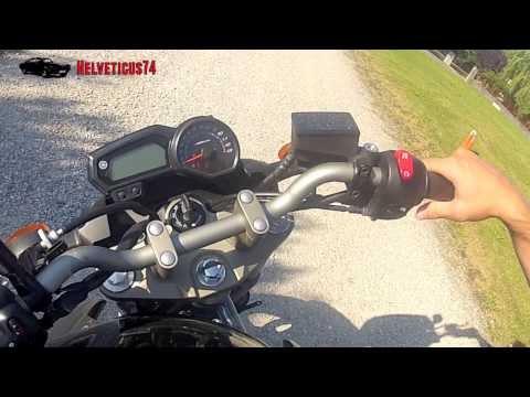 comment demarrer moto en poussant