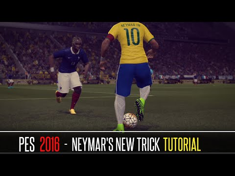 PES 2016 - Neymar's New Trick Tutorial