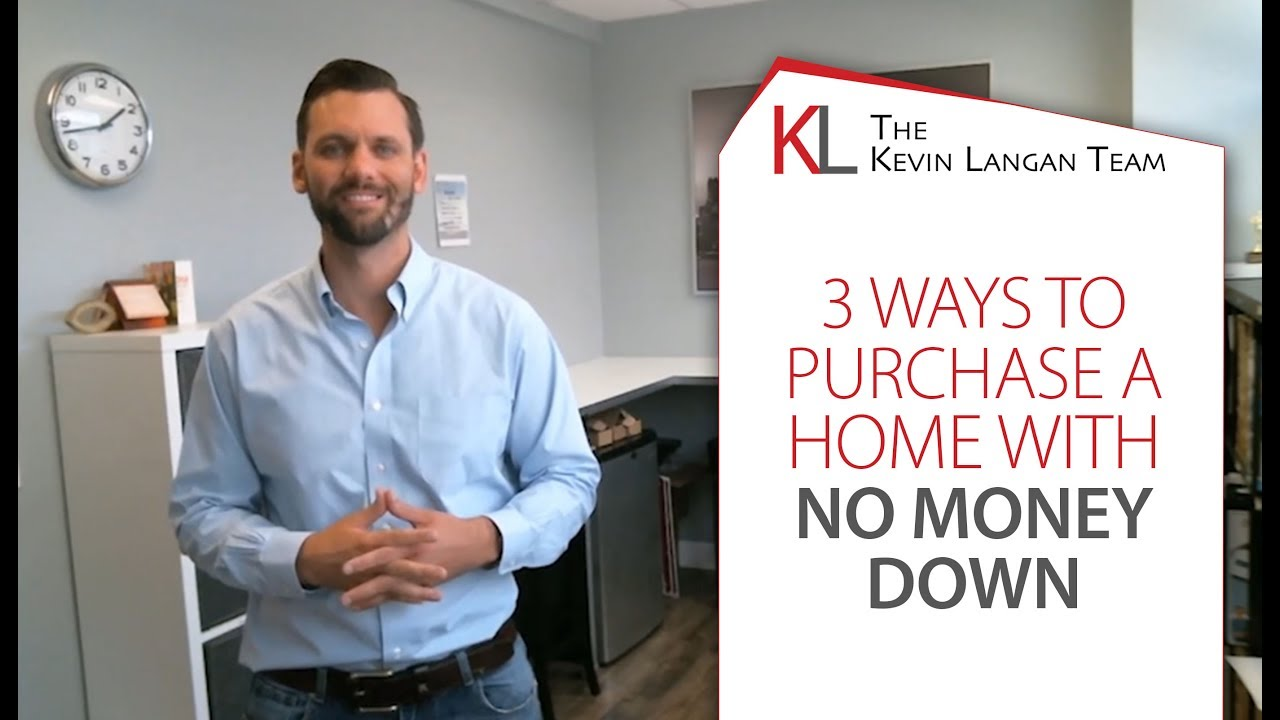 3 Ways to Buy a Home Without a Down Payment
