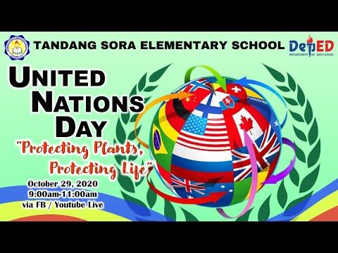 TSES United Nations Day Celebration