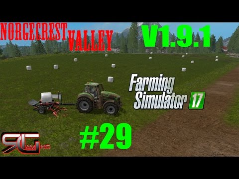 Norge Crest Valley 17 V2.2 Seasons & ChoppedStraw & animated drinks