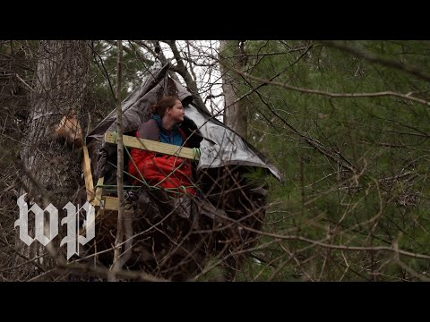 Trespassing on their own land to stop a pipeline