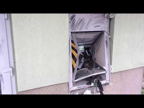 Wideo1: Wysadzony bankomat w Szlichtyngowej