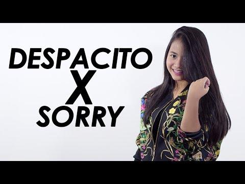 Despacito X Sorry - Luis Fonsi X Justin Bieber (Mashup Cover) By Hanin Dhiya