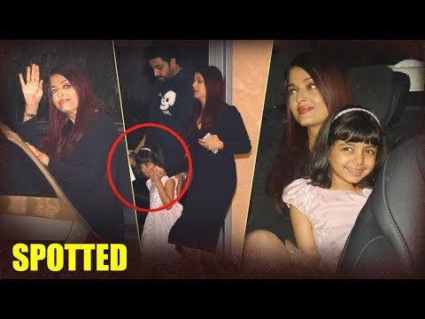 Abhishek And Aishwarya Bachchan Spotted At Yauatch