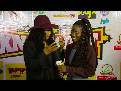 Sola Sobowale (Toyin Tomato) Rock it at Knockout Movie Premiere