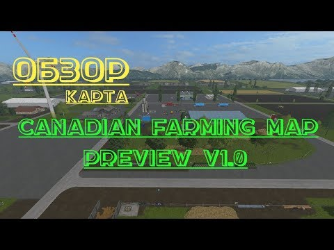 Canadian Farming Map preview v1.0