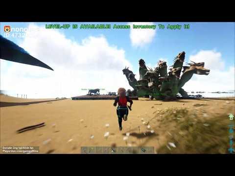 ARK: Gaia Mod - Game sinh tồn khủng long ^^ - Thời lượng: 1 giờ, 19 phút.