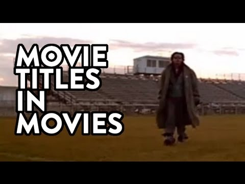Movie Titles In Movies