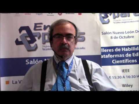 El doctor José Antonio de la Peña en #Entre Pares 2013