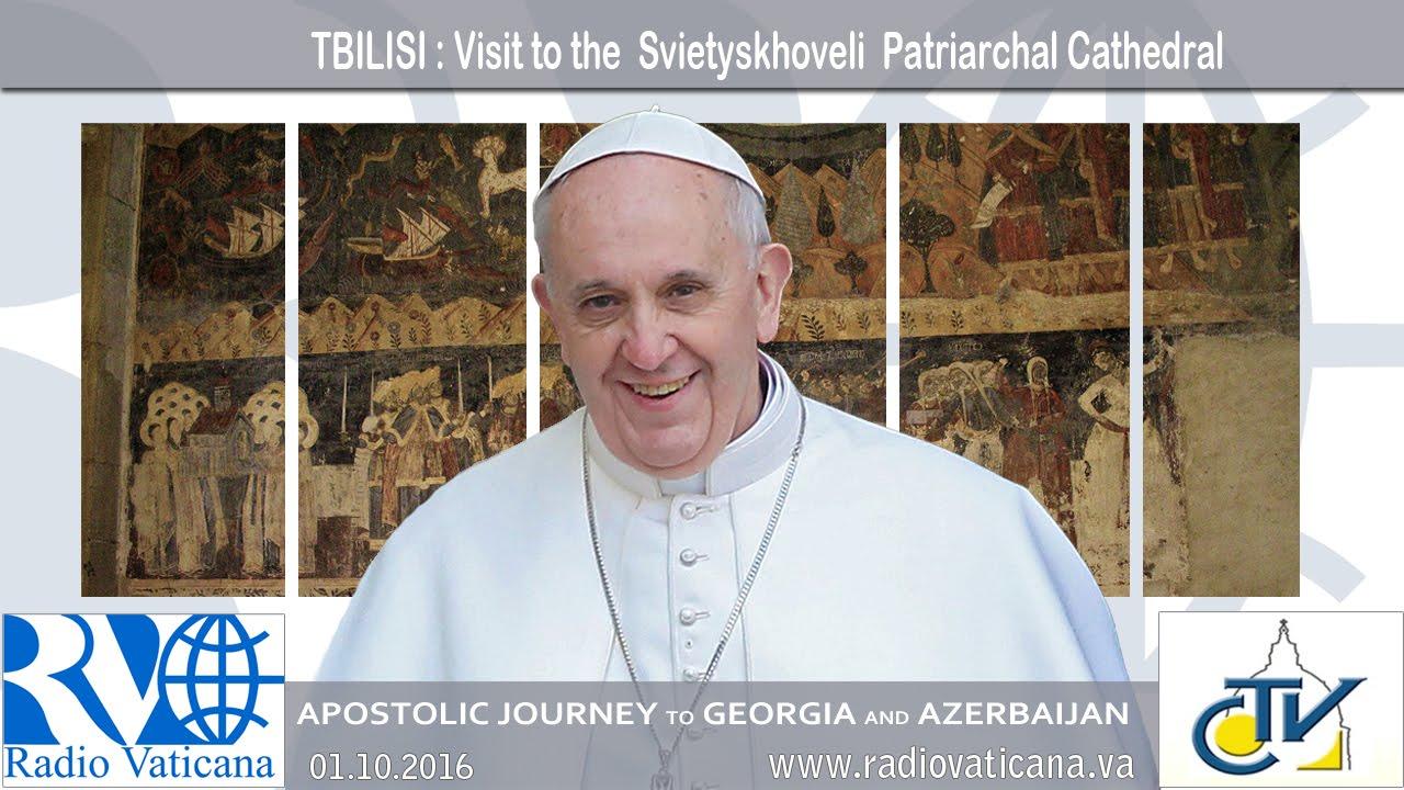 Visita a la Catedral Patriarcal de Svetitsjoveli, en Misjeta