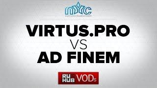Ad Finem vs Virtus.Pro, game 2