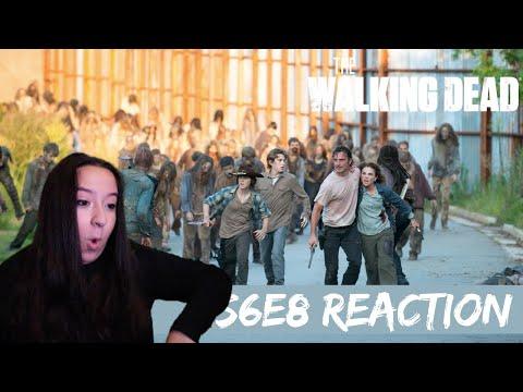 The Walking Dead REACTION Season 6 Episode 8 | Falling apart!