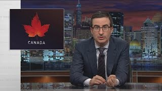 Canada is about to have a major election. John Oliver enlists Mike Myers, a beaver, and a moose to give voters some advice.