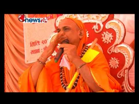 MahaswamiJi Visit in Nepal (News 24 TV)