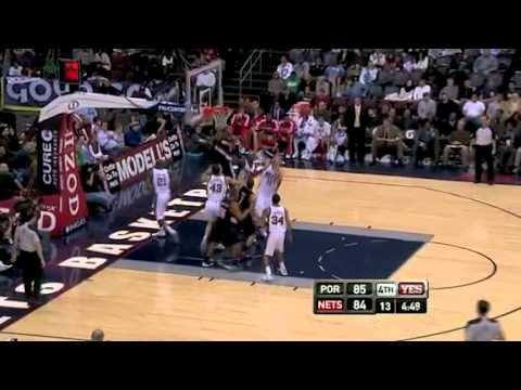 Portland Trail Blazers 96 – New Jersey Nets 98