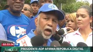 Presidente ADP afirma República Digital es un bulto
