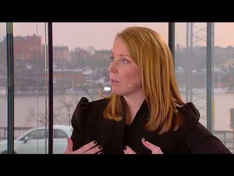Annie Lööf om spararfrågor, sociala medier och fake news – Nordnet Live 2018