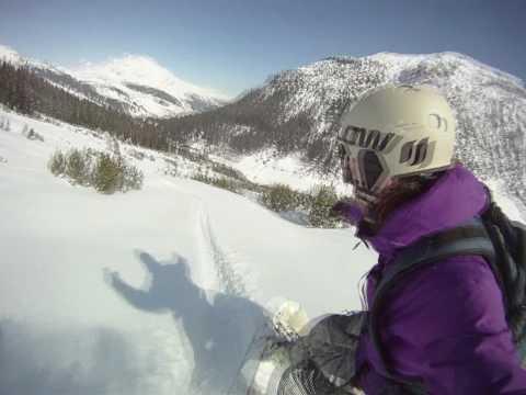 Snowboarding in Zürs